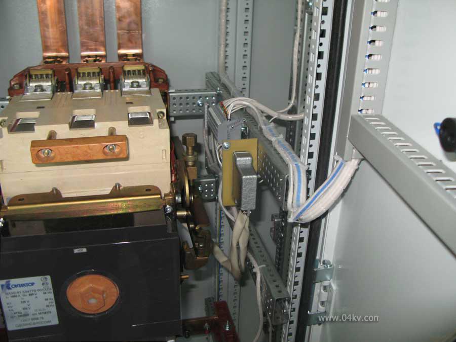 подключение ВА55-41 через