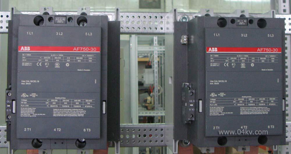 Контакторы ABB на 750А