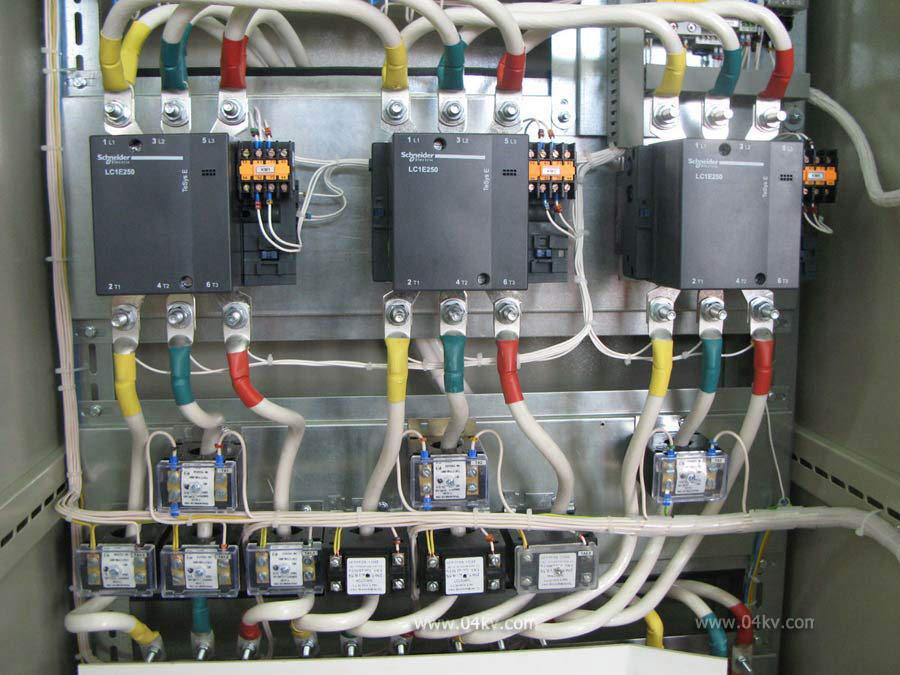 Применение реле контроля фаз схемы.  Контакторы schneider electric.