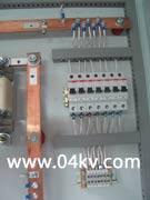Элементы монтажа шкафа постоянного тока