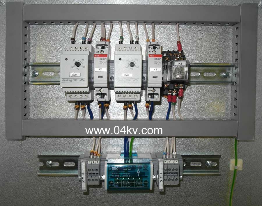цепи контакторы ESB-20-20