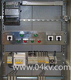 Схема управления наружным освещением с фотореле