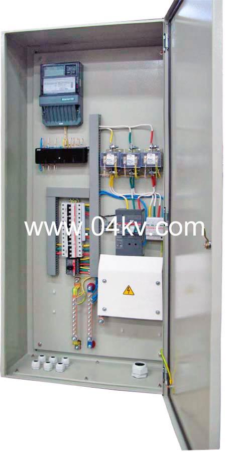 щит учета 04 кв электроэнергии наружной установки схема