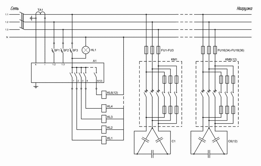 Схема УКРМ